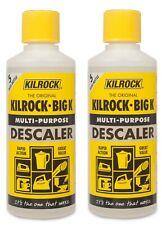 2 x Kilrock Big K Multi-Purpose Concentrated Descaler 400ml Limescale Remover