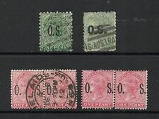 South Australia Used Australian State & Territory Stamps