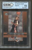 2003-04 Dwayne Wade UD Rookie Exclusives #5 Gem Mint 10 RC Rookie Miami Heat