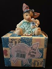 Enesco This Little Piggy Ducky To Have A Friend Like You 1995 With Box