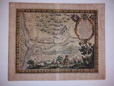 "Erik Dahlberg Map Battle of Nowy Dwór Mazowiecki 16.75 × 13.5"" 20 Sept 1655"