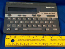 Franklin Spelling Ace Model Sa-98A Tested Works Merriam Webster Vtg Thesaurus