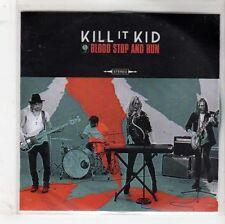 (GQ714) Kill It Kid, Blood Stop & Run (2 tracks) - DJ CD