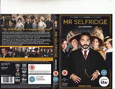 Mr Selfridge-2013/14-TV Series UK-Series 1/10 Episodes-3 Disc Set-DVD