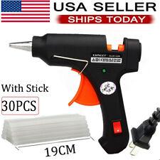 GLUE GUN Melt Bonus 30 glue STICKS DIY Repair Tool Kit Art Crafts Design 20W