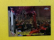 SEBASTIAN VETTEL 2020 Topps Chrome Formula One 1 F1 Grand Prix Singapore 147