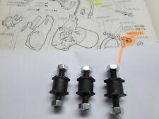 ROVER P6 3500 - SERIES 2 - WIPER MOTOR MOUNTS - SET OF 3