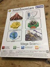 Smithsonian Mega Science Lab 6 Kit Set #49009 STEM BRAND NEW SEALED BOX