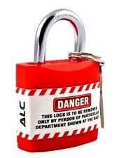 Danger Lockout Tagout padlock safety lock – LOTO safety RED