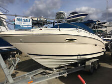 2001 Searay 225 Weekender cuddy cabin sports boat, recent service, low hours