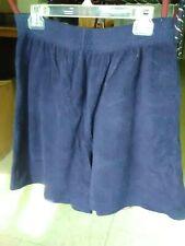 Women's Exercise Shorts, Navy Blue, Size L, Nwot