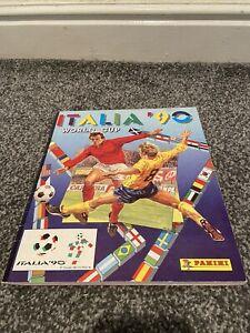 Italia '90 1990 Panini World Cup sticker album. 100% Complete.
