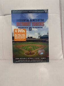 The Essential Games Of The Detroit Tigers DVD Set