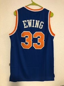 Men's New York Knick #33 Patrick Ewing Jersey
