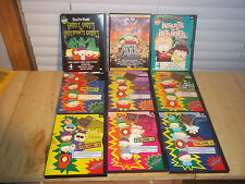 9 SOUTH PARK  DVDS GHOST GHOULS UNDERPANTS GNOMES INSULT to INJURY +MOVIE+VOL1-6