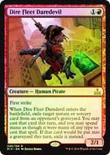 1X NM Foil Dire Fleet Daredevil Rivals Of Ixalan MTG Magic the Gathering