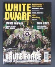 White Dwarf Magazine Issue 6 March 8th, 2014 Pre Owned!! OOP!