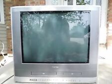 "TOSHIBA MW24F12 24"" CRT TV DVD VHS VCR PLAYER COMBO COLOR GAMING TELEVISION CCTV"