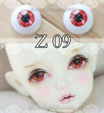 Bright Red Eyes 1pair 12mm,14mm,16mm,18mm For Bjd Doll Sd Luts Dod As Gc51