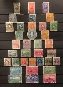 COSTA RICA  Lot de timbres-poste