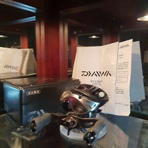 Daiwa SV Light Ltd tn T. Namiki Limited  6.3R  Second hand Baitcasting reel JDM