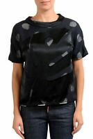 Maison Margiela 1 Silk Black Polka Dot Women's Blouse Top US S IT 40