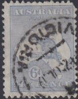 Australia - Definitive Issues - Kangaroo and Map - Different Watermark 1915