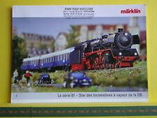 Catalogue MARKLIN 2006 F BR 01 - Star des locomotives à vapeur DB 01147 Neuf 6 p