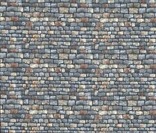 Toit en pierre de paysage-gris ardoise murale fq 50 x 56 cm Makower 1360 s 100% coton