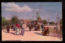 french Tuck Jetee Promenade Casino Nice France postcard