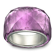 Swarovski  Nirvana petite amethyst   ring  55  1103227