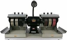 NEW CABKING Complete 6 Inch Cabbing Cabochon Machine + 5 POUNDS FREE ROUGH PRREV