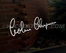 COLIN CHAPMAN SIGNATURE Car Decal Sticker Lotus Elan Elise Exige Espirt S1 S2
