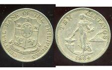 PHILIPPINES  10  CENTAVOS  1964   ( bis )