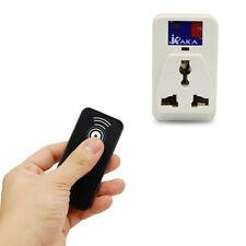 Wireless IR Remote Control 10 m Power Adapter Socket AC 220V~240V 500W US Plug