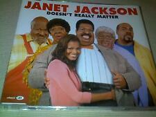 JANET JACKSON - DOESN'T REALLY MATTER - UK CD SINGLE