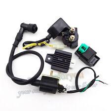 ATV Quad Ignition Coil CDI Regulator Rectifier Relay Kit For 50 70 90 110cc
