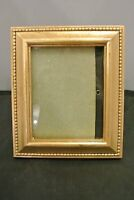 Vintage Plastic Gold Color Table top Picture Frame
