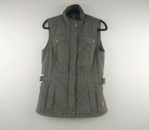 Ariat International Women's Brown Zip Up Vest - Size Small