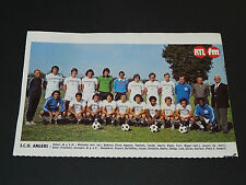 CLIPPING POSTER FOOTBALL 1976-1977 SCO ANGERS JEAN-BOUIN