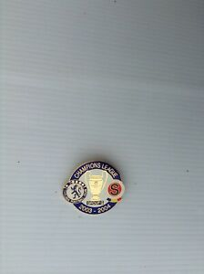 CHELSEA V SPARTA Prague  UEFA Champions League Group G 03/04 collector Pin Badge
