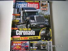 ** France Routes n°300 Dakar 2007 / Comparatif cabines / Freightliner Coronado