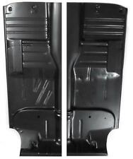 55-57 CHEVY SEDAN / WAGON FULL LENGTH FLOOR PANS PAIR - 210 150 BELAIR