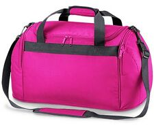 Compact Pink Holdall Sports Exercise Gym Overnight Weekend Travel Bag Womens