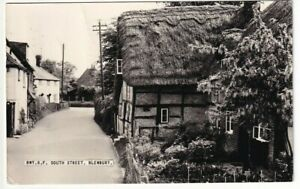 A Frith's Real Photo Post Card of South Street, Blewbury. Berkshire.