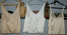 3 Vintage Camilsoles in Size large by Vanity Fair