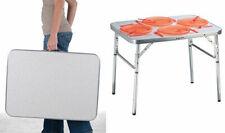 Alu Tisch 75x55 cm - höhenverstellbar - Klapptisch Camping Tisch Picknick Tisch