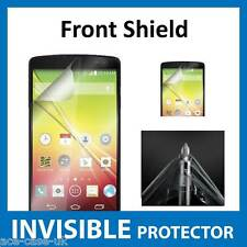 LG Optimus F60 INVISIBLE FRONT Screen Protector Shield - Military Grade