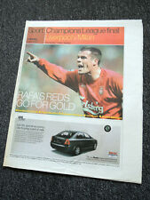 LIVERPOOL LFC GUARDIAN MAY 2005 FRONT COVER CHAMPIONS LEAGUE FINAL NOT DVD SHIRT