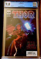 THOR #5 CGC 9.8 1ST APP OF THE BLACK WINTER (2020) MARVEL NM+ HOT BOOK!!